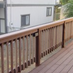 Lighted Trex Railing